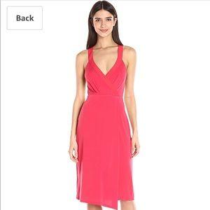 BCBGeneration Faux Wrap Midi Dress Size XXS